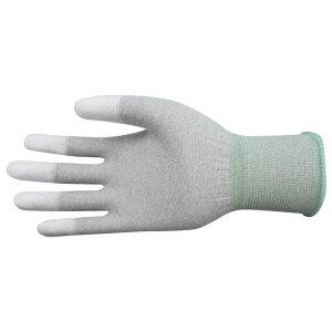 衛生用品 三高サプライ 制電ポリウレタンコーティンググローブ(手袋) カーボントップフィットタイプ 10双入り GPU212 S