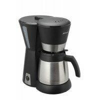 便利雑貨 Abitelax(アビテラックス) コーヒーメーカーステンレスタイプ ブラック&シルバー ACD-88W-K