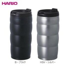 容器・ストッカー・調味料容器 HARIO(ハリオ) V60 ステンレス真空二重マグ ウチマグ VUW-35 HSV・シルバー