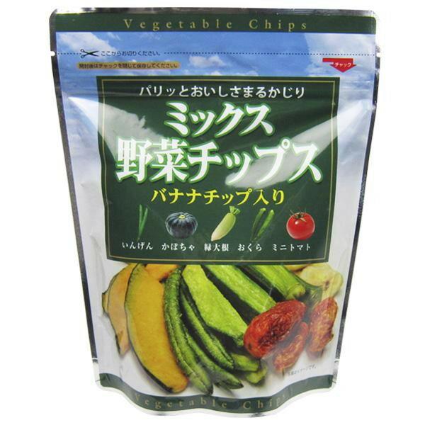 スイーツ・お菓子関連商品 フジサワ ミックス野菜チップス(100g) ×10個