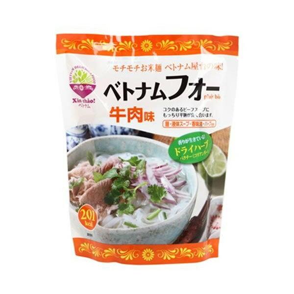 軽食品関連商品 Xin chao!ベトナム ベトナムフォー牛肉味 12個セット