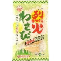 軽食品関連商品 植垣米菓 こだわりの味 烈火わさび 30g×12