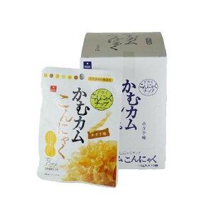 アスザックフーズ 噛むカムこんにゃく ホタテ味 60袋(10袋×6箱)おすすめ 送料無料 誕生日 便利雑貨 日用品
