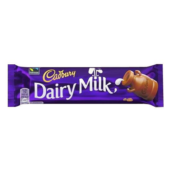 軽食品関連商品 キャドバリー デイリーミルクチョコレート 50g×24本入り
