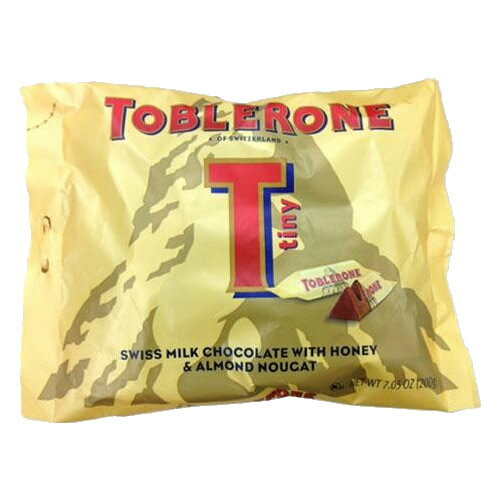 スイーツ・お菓子関連商品 トブラローネ ミルクチョコレート タイニーミルクバッグ 200g×20袋セット