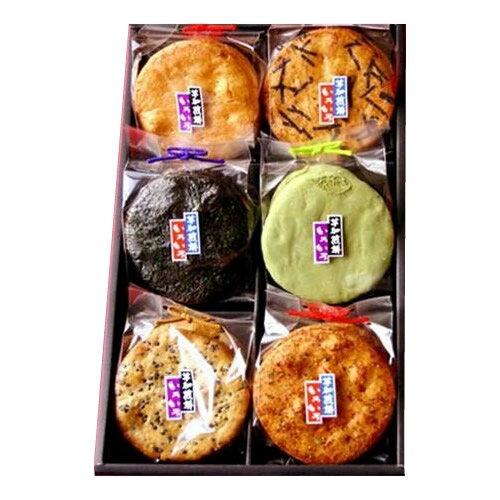 スイーツ・お菓子関連商品 草加せんべい 草加いろいろ(6マス)×3箱