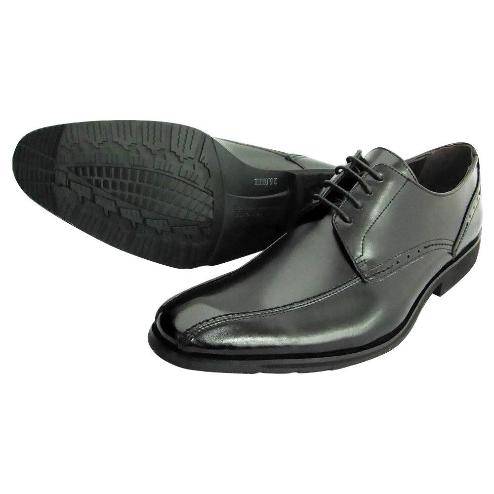 服飾雑貨関連商品 U.P Renoma 紳士メンズ ビジネスシューズ U3600 ブラック 24.5cm