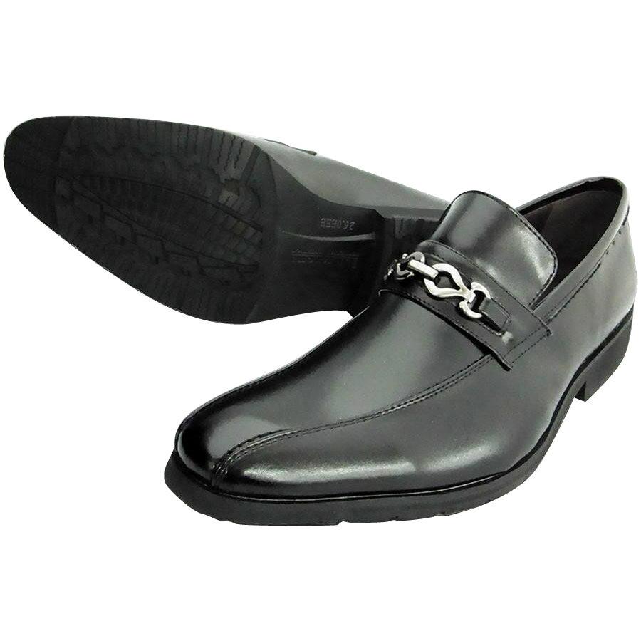 服飾雑貨関連商品 U.P Renoma 紳士メンズ ビジネスシューズ U3601 ブラック 24.5cm