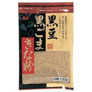 日用品 便利 ユニーク 玉三 黒豆黒ごまきな粉100g×40個 0273