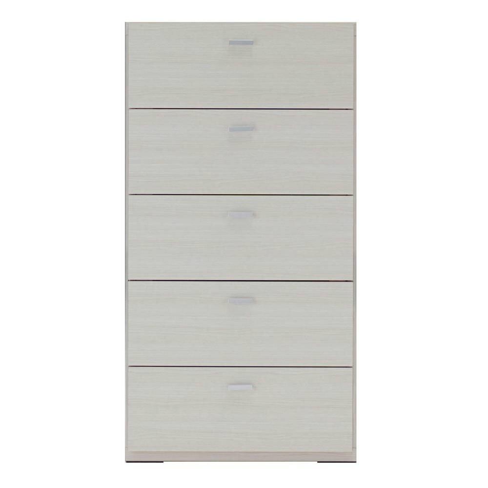 家具/収納関連商品 フナモコ リビングチェスト ホワイトウッド柄 DRS-60