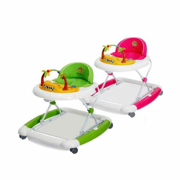 ベビーおもちゃ 関連商品 ベビー用品 歩行器 ベビーウォーカー ZOO グリーン・J-2216