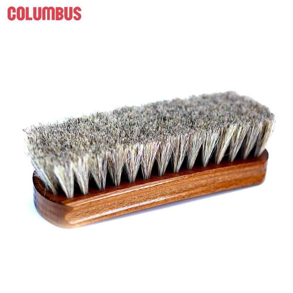 靴関連商品 コロンブス シューケア 靴用ブラシ 馬毛ブラシ ジャーマンブラシ1