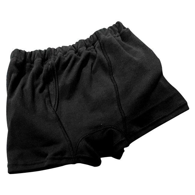 ベビーウエア関連商品 日本製 子供用おねしょパンツ(ボクサーパンツタイプ) 男の子用 ブラック 130cm
