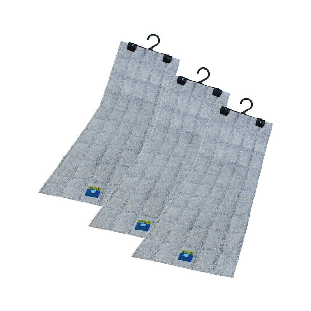 掃除 関連商品 日本製 吊り下げ型 強力消臭&除湿シート クローゼット用 3枚セット