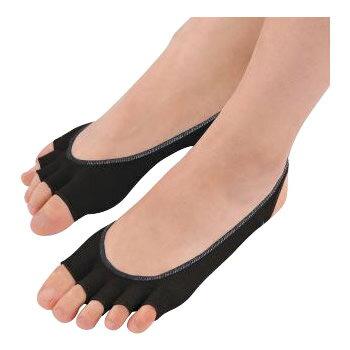レディース靴下・レギンス・スパッツ関連商品 DEOSUNNY デオサニー 高機能消臭 抗菌防臭×吸汗速乾 5本指カバー レディース ブラック 5SKCL-BK ×4足セット