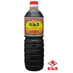 ヒシク藤安醸造 こいくち むらさき 甘口 1L×10本 箱入りお得 な全国一律 送料無料 日用品 便利 ユニーク