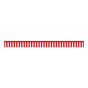 玩具 関連 B紅白幕 23940 トロピカル 5間 H700 オススメ 送料無料
