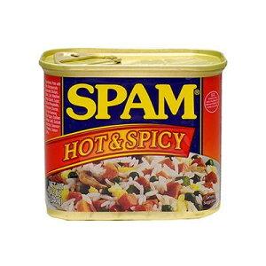 肉・肉加工品 ホーメル スパム ホット&スパイシー 340g×12個/ホーメル社の有名なスパム