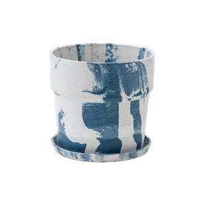 植木鉢 マーブル ミルク/ブルーベリー 80995人気 商品 送料無料 父の日 日用雑貨