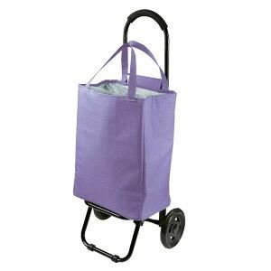 ショッピングカート トートバッグ型 15-5015 パープルおすすめ 送料無料 誕生日 便利雑貨 日用品