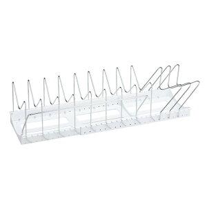 日用品 雑貨 通販 Belca(ベルカ) フライパン・鍋・ふたスタンド 2WAY ワイドタイプ ホワイト PFN-NL 人気 お得な送料無料 おすすめ