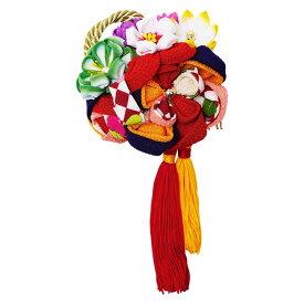 生活 雑貨 通販 レトロポップな和風髪飾り 224-021 アカ