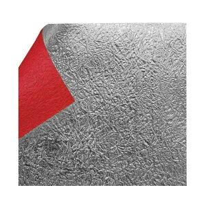 もみ銀箔両面和紙 単色 25.5×36cm 赤 10枚入 KJ-13R 1 セット人気 商品 送料無料 父の日 日用雑貨