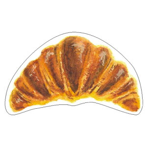 パンのメッセージカード 12枚入 クロワッサン b144 5個セットオススメ 送料無料 生活 雑貨 通販