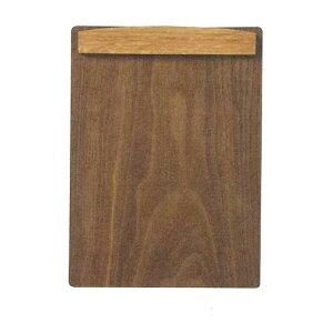 木製クリップボード マグネット式 A5判用 ブラウン Y-55K-BRお得 な 送料無料 人気 トレンド 雑貨 おしゃれ