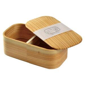 日用品 雑貨 通販 日本の弁当箱 長角 一段 箱入り 80185 オススメ 送料無料