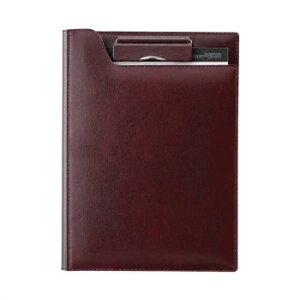 再生皮革クリップファイル A5 ワイン ZVF605Zお得 な全国一律 送料無料 日用品 便利 ユニーク