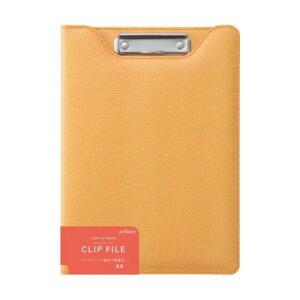クロスペーパークリップファイル A4 イエロー ZVF295Yおすすめ 送料無料 誕生日 便利雑貨 日用品