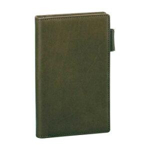 オリーブレザー システム手帳 ポケットサイズスリム グリーン JDP3029M人気 お得な送料無料 おすすめ 流行 生活 雑貨
