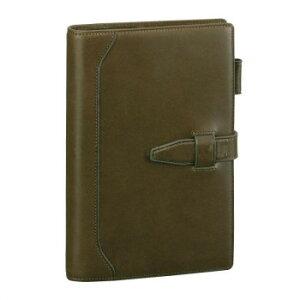 オリーブレザー システム手帳 聖書サイズ グリーン DB3027Mおすすめ 送料無料 誕生日 便利雑貨 日用品