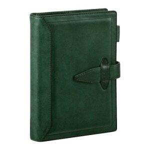 システム手帳 聖書サイズ グリーン DB3014Mおすすめ 送料無料 誕生日 便利雑貨 日用品