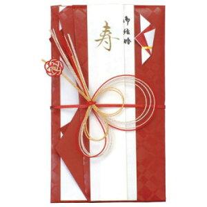 飾金封 祝 No.2482 紅タータンチェック 10Pセットオススメ 送料無料 生活 雑貨 通販
