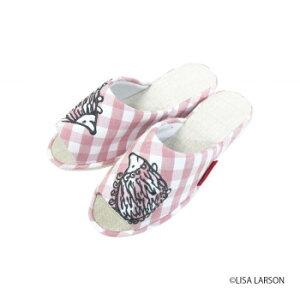 スリッパ はりねずみパンタロン ピンク LS23012-Pおすすめ 送料無料 誕生日 便利雑貨 日用品