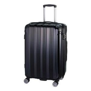 24インチ キャリーケース 約74〜86L S19-D-703 ブラック人気 お得な送料無料 おすすめ 流行 生活 雑貨
