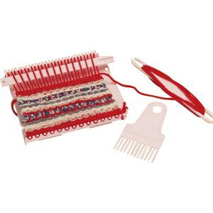 その他ライフグッズ(趣味) スクエアモチーフが簡単に織れる小型織り機 マフラーレシピ付き おすすめ 送料無料