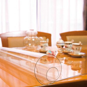 日本製 透明テーブルマット(1mm厚) 約800×1350長 TC1-1358オススメ 送料無料 生活 雑貨 通販