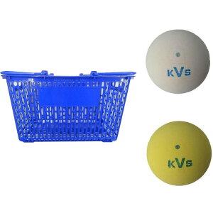 コクサイ KOKUSAI ソフトテニスボール練習球 10ダース(同色120個) カゴ付 ホワイトオススメ 送料無料 生活 雑貨 通販