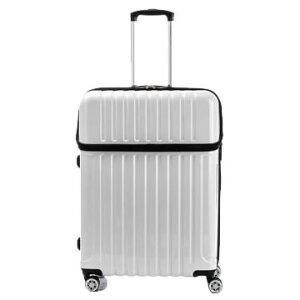 スーツケース トップオープン トップス Lサイズ ACT-004 ホワイトカーボン・74-20339人気 お得な送料無料 おすすめ 流行 生活 雑貨