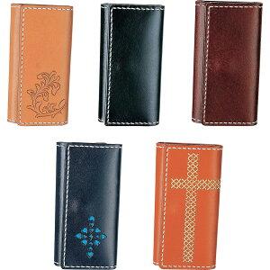 生活 雑貨 おしゃれ クラフト社 革キット Simple Leather Style シンプルレザースタイル 三つ折キーケース レンガ・14391-05 お得 な 送料無料 人気 おしゃれ