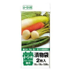 漬物袋 4〜5斗用(70L〜100L) 透明 2枚×10冊×6袋 TK05 人気 お得な送料無料 おすすめ 流行 生活 雑貨