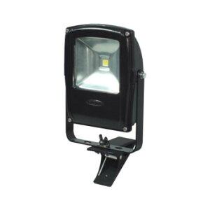 LEN-F10C-BK-S LEDフラットライト 10W クリップ式 マグネット付き 黒 電球色 13013 おすすめ 送料無料 誕生日 便利雑貨 日用品