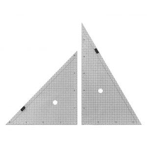 方眼三角定規 30cm×2mm 1-809-5001 お得 な 送料無料 人気 トレンド 雑貨 おしゃれ