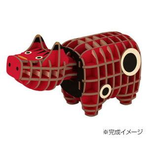 Wooden Art ki-gu-mi 木製パズル 赤べこお得 な 送料無料 人気 トレンド 雑貨 おしゃれ