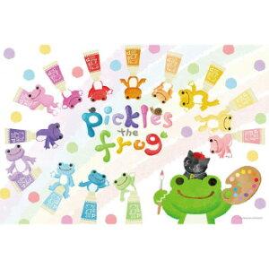 人気のぬいぐるみ「かえるのピクルス」のイラストがジグソーパズルで登場。 生産国:日本 商品サイズ:完成サイズ:50×75cm 仕様:ピース数:1000