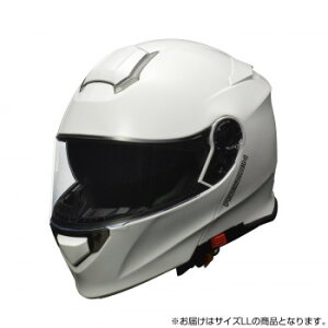 生活 雑貨 おしゃれ REIZEN フルフェイス インナーシールド付き モジュラーヘルメット LLサイズ(61-62cm未満) ホワイト お得 な 送料無料 人気