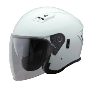 生活 雑貨 おしゃれ ユニカー工業 Wシールド ジェットヘルメット メタリックホワイト BH-39W お得 な 送料無料 人気